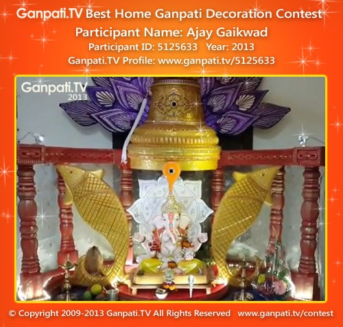 Ajay Gaikwad Ganpati Decoration