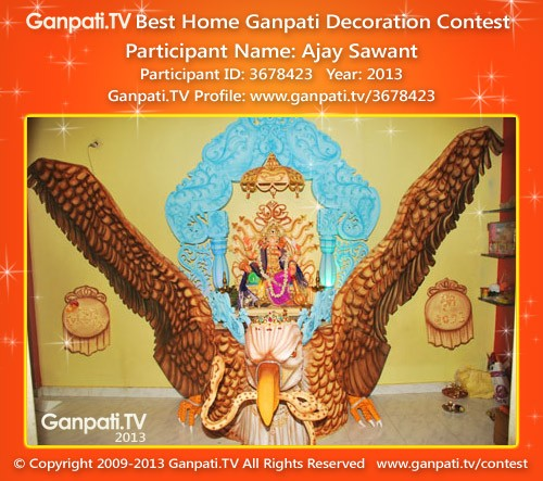 Ajay Sawant Ganpati Decoration