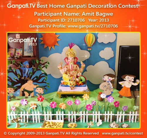 Amit Bagwe Ganpati Decoration