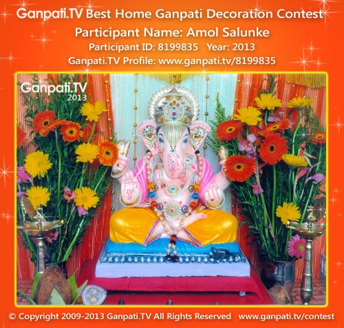 Amol Salunke Ganpati Decoration