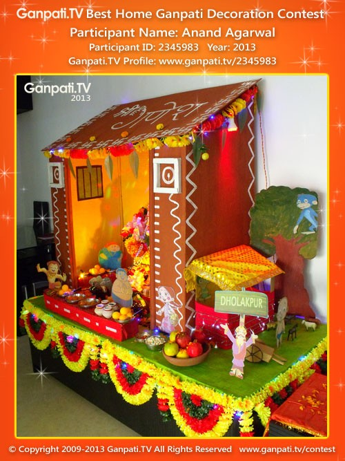 Anand Agarwal Ganpati Decoration