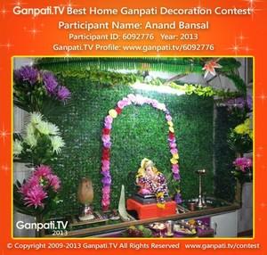 Anand Bansal Home Ganpati