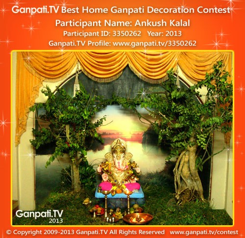 Ankush Kalal Ganpati Decoration