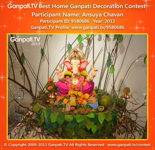 Ansuya Chavan Ganpati Decoration
