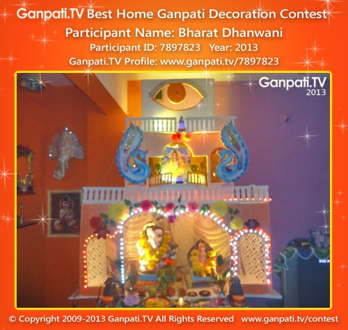 Bharat Dhanwani Ganpati Decoration