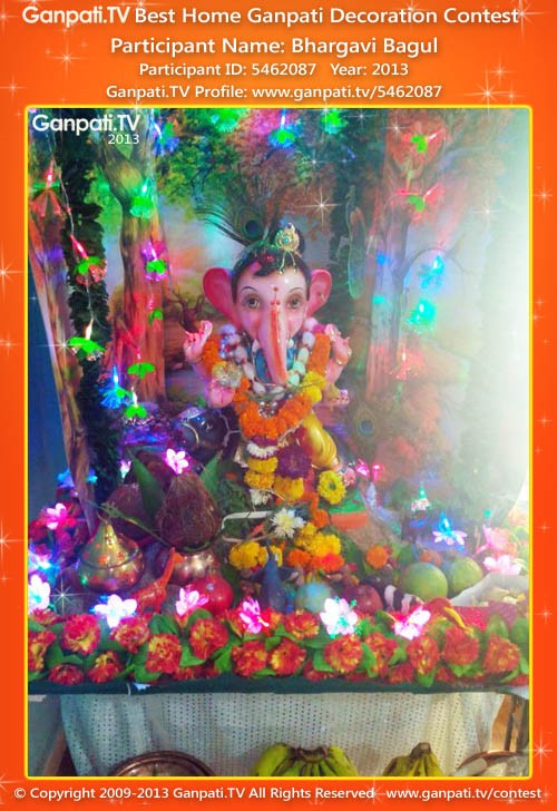 Bhargavi Bagul Ganpati Decoration