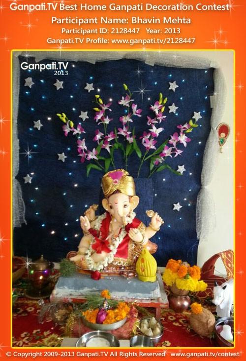 Bhavin Mehta Ganpati Decoration