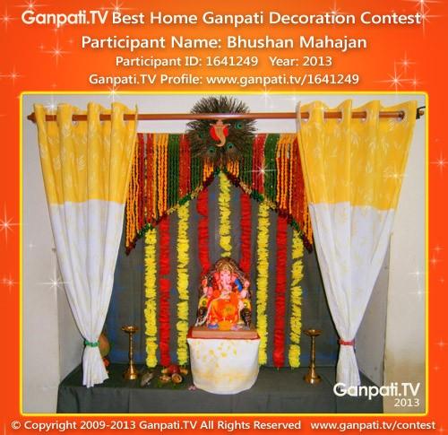 Bhushan Mahajan Ganpati Decoration
