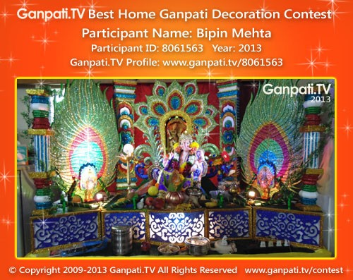 Bipin Mehta Ganpati Decoration