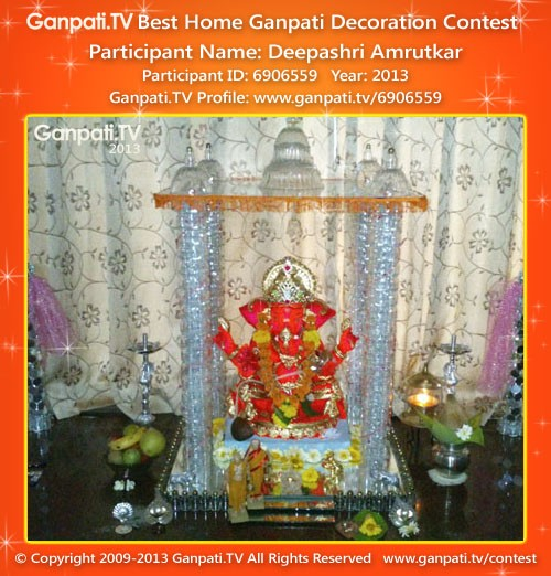 Deepashri Amrutkar Ganpati Decoration