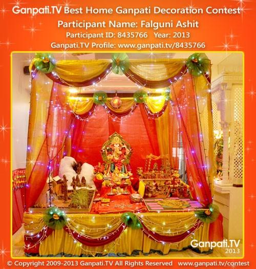 Falguni Ashit Ganpati Decoration