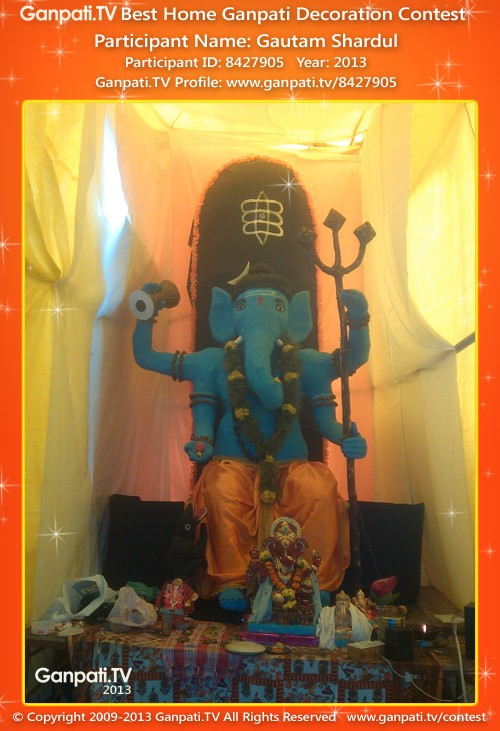 Gautam Shardul Ganpati Decoration