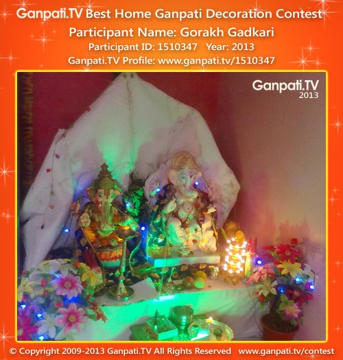 Gorakh Gadkari Ganpati Decoration
