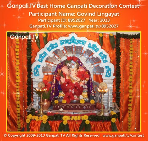 Govind Lingayat Ganpati Decoration