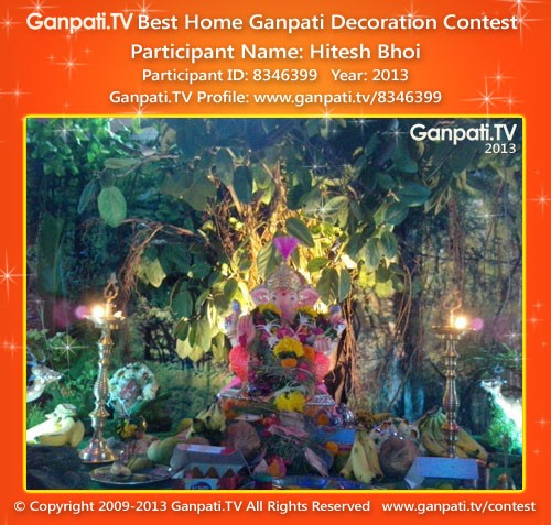Hitesh Bhoi Ganpati Decoration