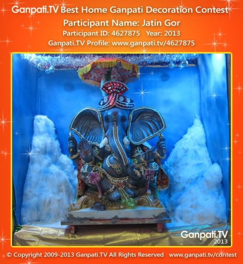 Jatin Gor Ganpati Decoration