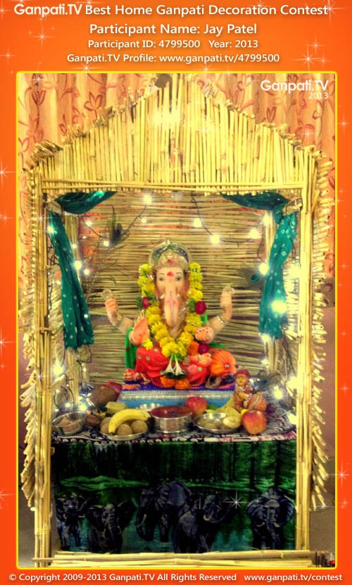 Jay Patel Ganpati Decoration