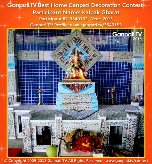 Kalpak Gharat Ganpati Decoration