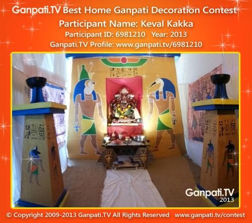 Keval Kakka Ganpati Decoration