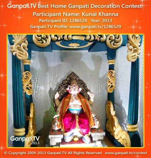Kunal Khanna Ganpati Decoration
