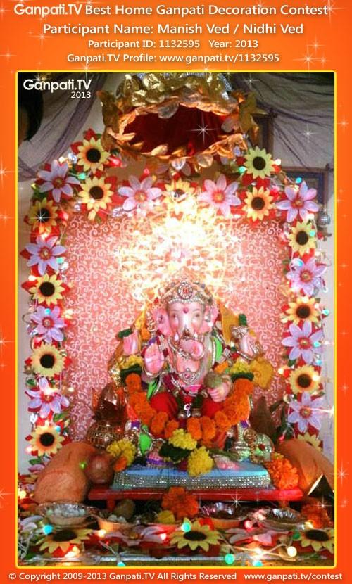 Manish Ved Ganpati Decoration
