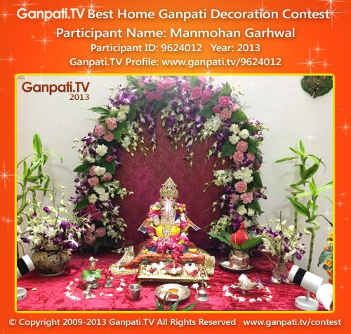 Manmohan Garhwal Ganpati Decoration