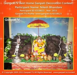 Nilesh Bhandare Home Ganpati