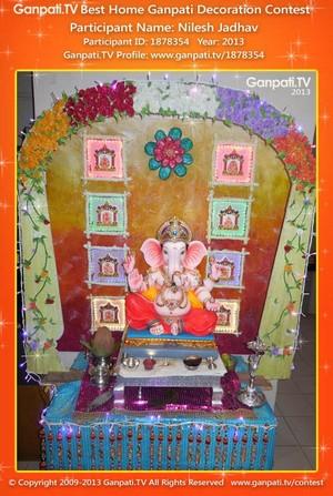 Nilesh Jadhav Home Ganpati Picture