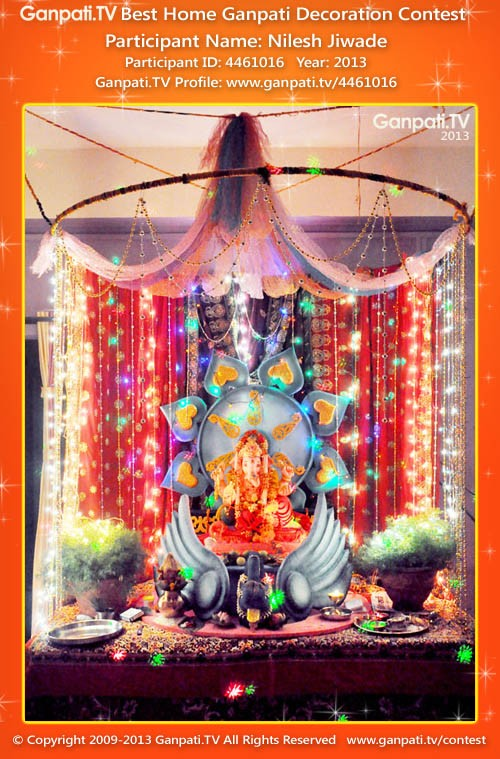 Nilesh Jiwade Ganpati Decoration