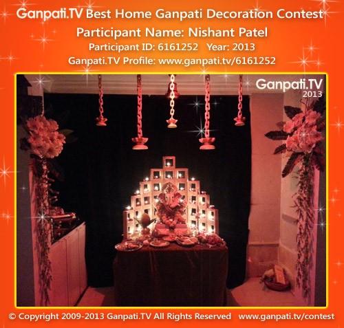 Nishant Patel Ganpati Decoration
