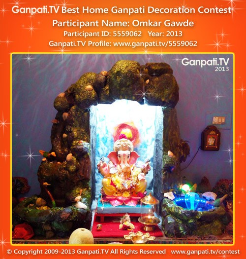 Omkar Gawde Ganpati Decoration