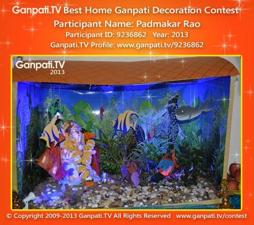 Padmakar Rao Ganpati Decoration