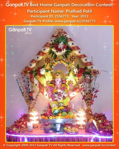 Pralhad Patil Ganpati Decoration