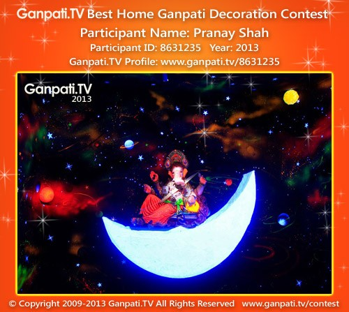 Pranay Shah Ganpati Decoration