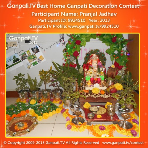 Pranjal Jadhav Ganpati Decoration