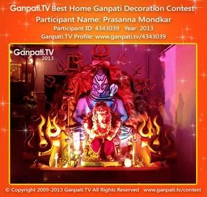 Prasanna Mondkar Home Ganpati