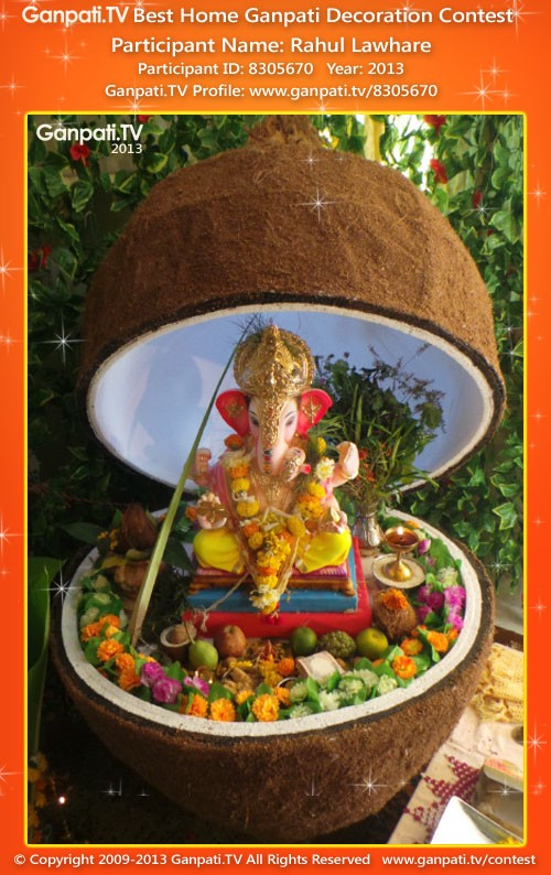 Rahul Lawhare Ganpati Decoration