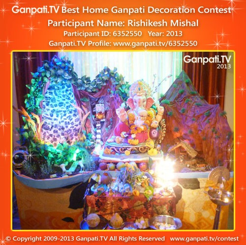 Rishikesh Mishal Ganpati Decoration