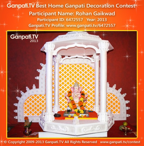 Rohan Gaikwad Ganpati Decoration