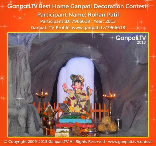 Rohan Patil Ganpati Decoration