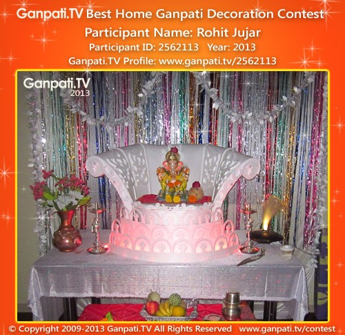 Rohit Jujar Ganpati Decoration