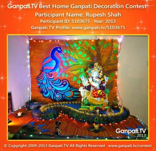Rupesh Shah Ganpati Tv
