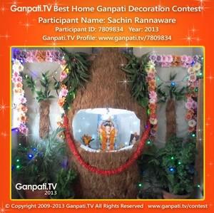 Sachin Rannaware Home Ganpati