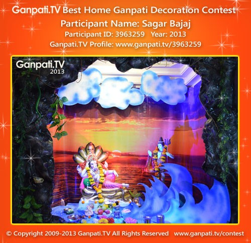 Sagar Bajaj Ganpati Decoration