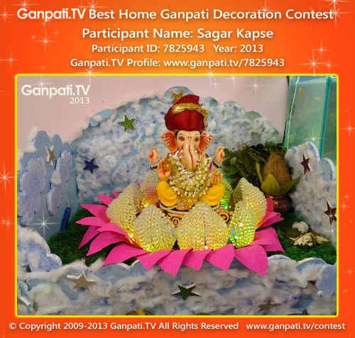 Sagar Kapse Ganpati Decoration