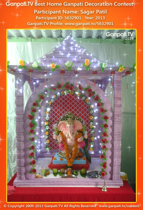 Sagar Patil Ganpati Decoration