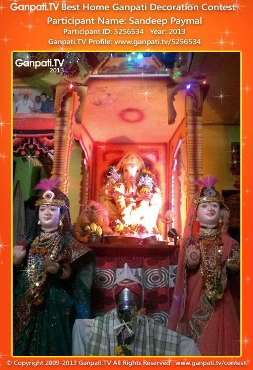 Sandeep Paymal Ganpati Decoration