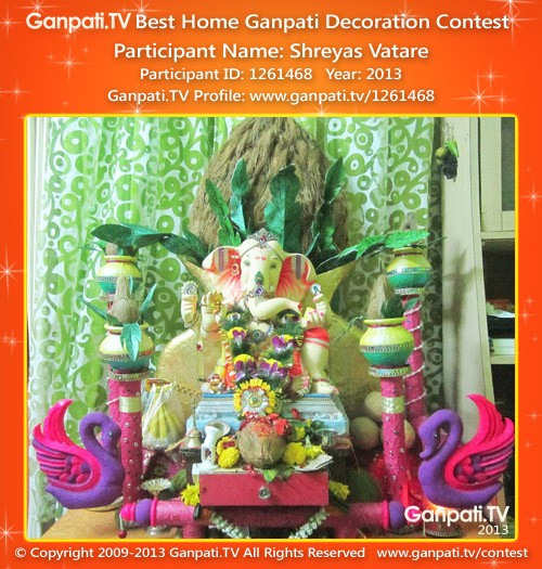 Shreyas Vatare Ganpati Decoration