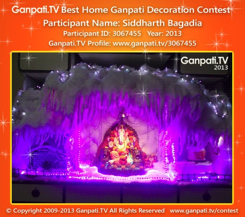 Siddharth Bagadia Ganpati Decoration