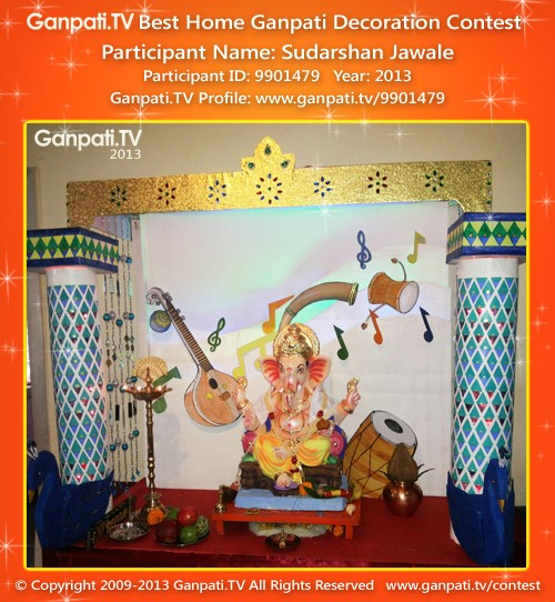 Sudarshan Jawale Ganpati Decoration